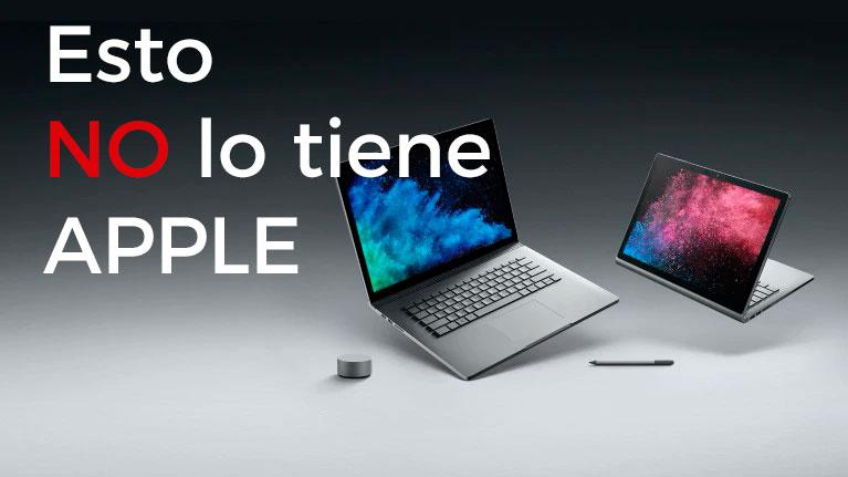 El dispositivo que Apple no tiene y Microsoft si