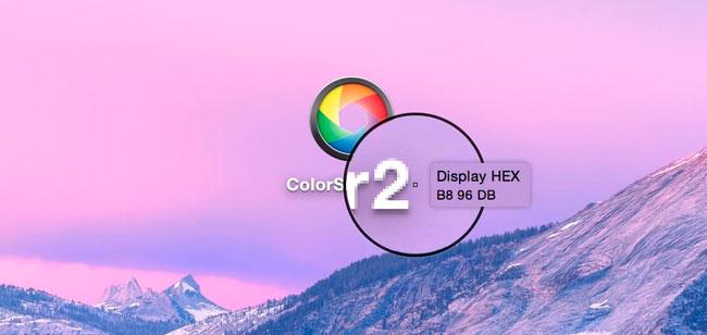 Color Snapper función lupa