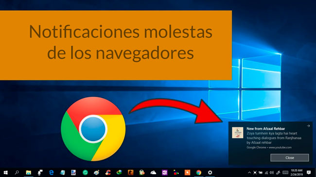 Notificaciones windows